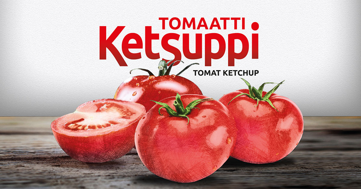 Herkkumaan tomaattiketsuppi