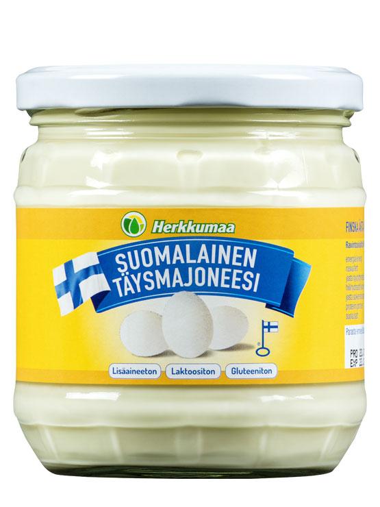 Herkkumaan suomalainen lisäaineeton täysmajoneesi