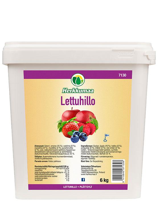 Herkkumaan Lettuhillo 6 kg