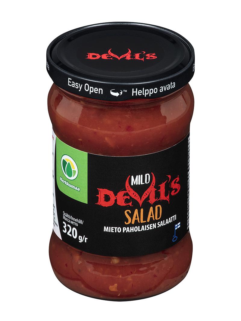 Herkkumaan Devil's Salad Mild 320 g