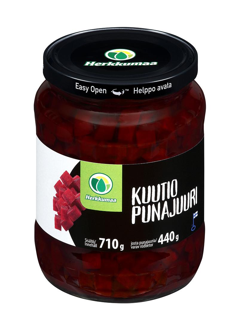 Punajuurikuutioita mausteliemessä 710 g