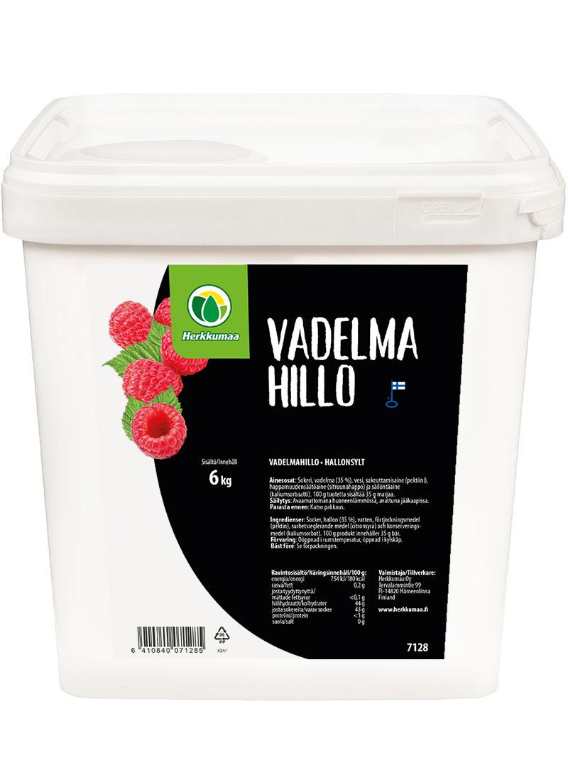 Herkkumaan Vadelmahillo 6 kg